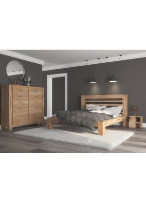 Łóżko dębowe Syringa 05
