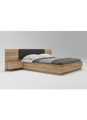 Łóżko dębowe Morus 01 podnoszone