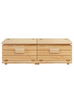 Kufer drewniany Góralski 28 140cm