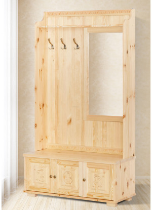 Garderoba drewniana Góralska