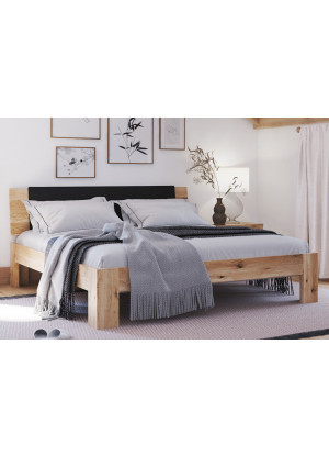 Łóżko dębowe Vernalis 02
