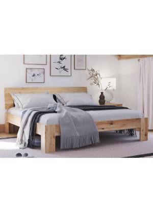 Łóżko dębowe Vernalis 01