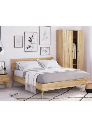 Łóżko dębowe Malaga 01