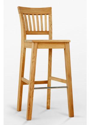 Krzesło dębowe barowe D