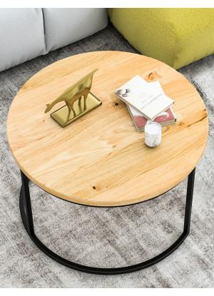 Stolik kawowy dębowy Ław03 duży