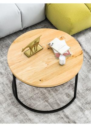 Stolik kawowy dębowy Ław03 mały