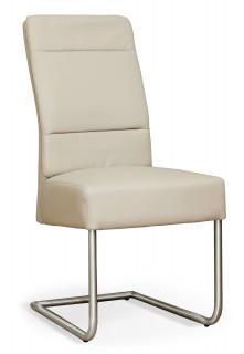 Krzesło tapicerowane na metalowych nogach NK-30