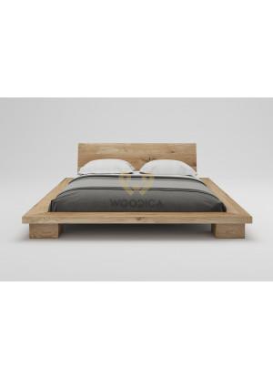 Łóżko dębowe Cerasus 01