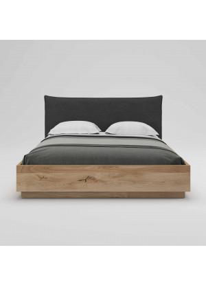 Łóżko dębowe Morus 02 podnoszone