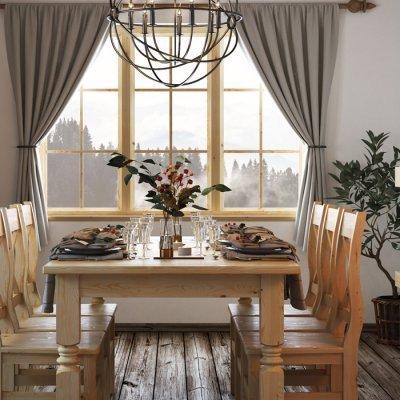 Kuchnia drewniana – klasyczne piękno