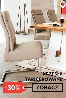 Krzesła tapicerowane promocja