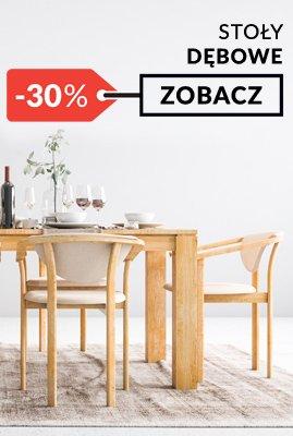 Stół dębowy klasyczny rozkładany fotel dębowy promocja