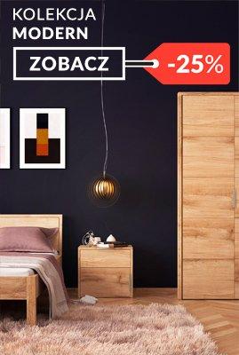 Meble dębowe nowoczesne Modern sypialnia promocja